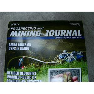 ICMJ's Prospecting & Mining Journal Magazine September 2015 AMRA in Idaho