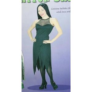 Sexy Black Witch Dress Womens Adult Costume Medium 8-10