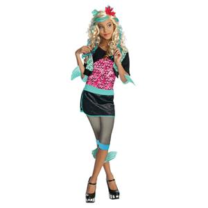 Girls Monster High Lagoona Blue Child Costume Size Medium