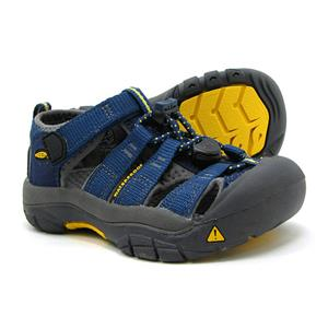 Keen Infant's Newport H2 Navy Sandals Unsex Size 4 Shoes Waterproof New