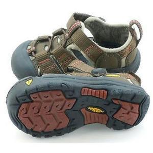 Keen Newport H2 Infant Kids Shoe Size 4 Brown Henna NIB New