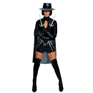 Secret Wishes Women's Sexy V for Vendetta Female Adult Costume Medium