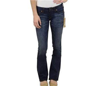 NWT Authentic True Religion Tony Pony Express Mid-Rise Jeans in Tim Lucky Draw