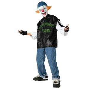 Rubie's Neighborhood Klownz: Loco Clown Child Costume Size Large 12-14
