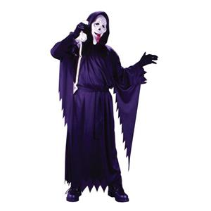 Child Scream Movie Ghost Face Whassup Boy's Costume Fits up to Size 12