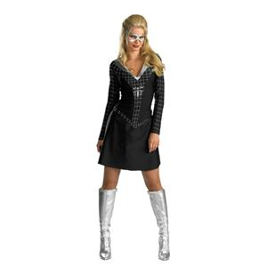 Black-suited Spider-Girl Classic Adult Women's Costume Size Small 4-6