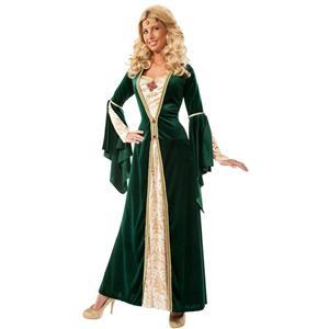 King's Mistress Adult Renaissance Costume Standard Size