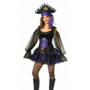 Shipmate Piratess Adult Costume Small Size 2-6