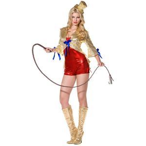 Women's Fever Circus Lady Adult Ringmaster Costume Size Medium