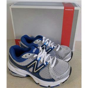 New Balance Running Shoe 741 Youth Size 11.5 Extra Wide NIB Blue Metallic