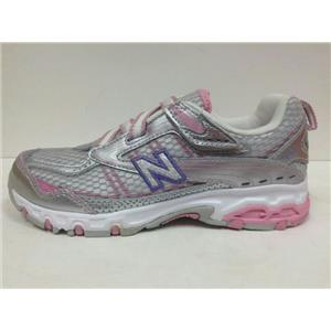 New Balance 686 Shoes Infant Kids Size 6 Pink Silver Purple NIB