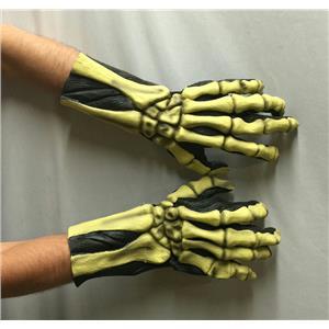 Skeleton Bones Glow In The Dark Hands Gloves CHEAP