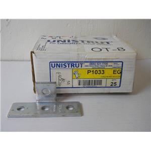 Tyco Unistrut P1033 EG 4 Hole 90 Degree Tee Fitting Box of