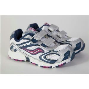 0a99ac5b2545 Saucony Baby Cohesion HL Girls Shoes 7.5M . Shift Gear Exchange
