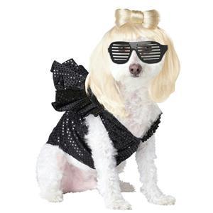 Pop Sensation Lady Dogga Dog Costume Size Small