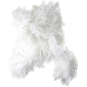 "72"" White Feather Boa Great Flapper Costume Accessory"