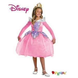Sleeping Beauty Deluxe Aurora Child Costume Size Small 4-6