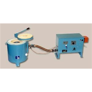 Johnson LP Gas Furnace #10 Crucible Gold-Copper-Silver 2250F Melting Bars Smelt