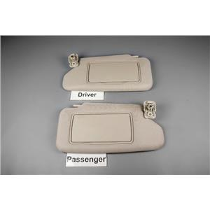 2007-2013 Nissan Altima Sun Visor Set with Cover Mirrors (Coupe Only) .  ekusparts 122de45c59b