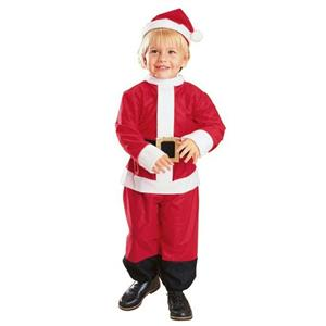 Little Santa Christmas Infant Child Costume Size 1-2