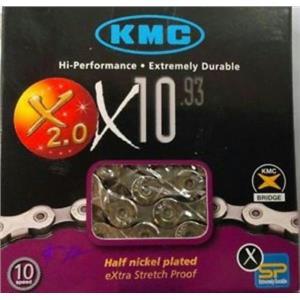 """KMC Chain x10.93 1/2"""" 11/12"""" 116L"""