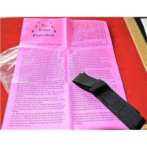 The Ribbon Experiment Vintage Magic Trick