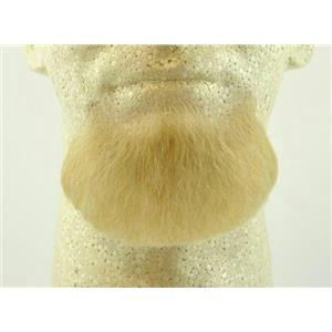 Blonde Human Hair Goatee Chin Beard Costume Beard 2022