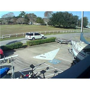 Boaters' Resale Shop of Tx 1511 1740.93 H O jib w22-4 luff U/S sailmakers