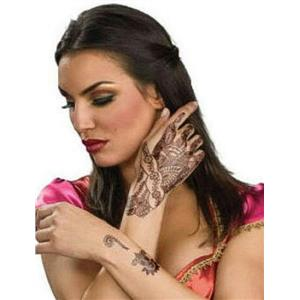 Bollywood Henna Hand Tattoo Kit Temporary Tattoos