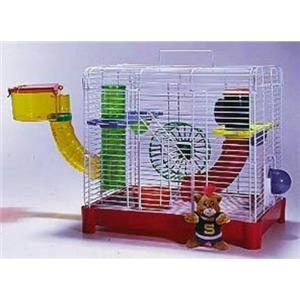 Penn Plax Jungle Gym Hamster Gerbil Cage Habitat SAM9