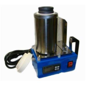 HandyMelt Melting Furnace Melt Scrap Gold & Silver Bars-Easy Handle Pour 220V
