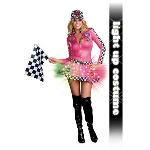 Dreamgirl Women's Lightnin' Speed Sweetie Sexy Adult Costume Size Small 2-6