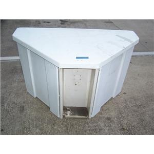 Boaters' Resale Shop Of Tx TRIANGULAR DOCK BOX