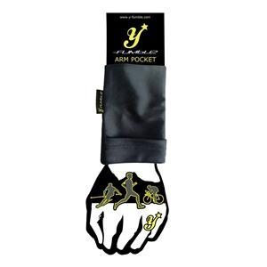 Y-Fumble Arm Pocket Running Cycling Black Medium