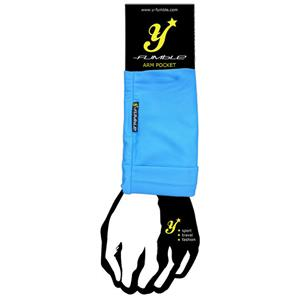 Y-Fumble Arm Pocket Running Cycling Blue Medium