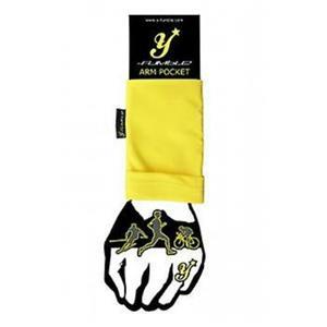 Y-Fumble Arm Pocket Running Cycling Yellow Small