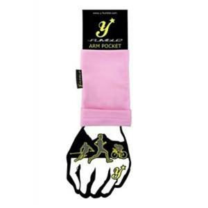 Y-Fumble Arm Pocket Running Cycling Pink Large