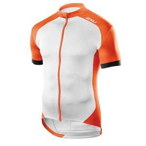 2XU Active Cycle Jersey Men's Medium Orange