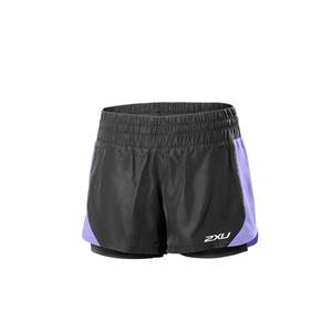 2XU Pace Compression Shorts Women's Black/Amethyst