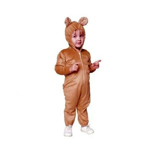 Cute Bear Infant Pajama Pjs Style Child Costume Jumpsuit Size 1-2