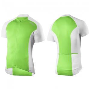 2XU Active Cycle Jersey Men's Medium Green/White