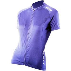 2XU Women's Road Comp Jersey Small Blue