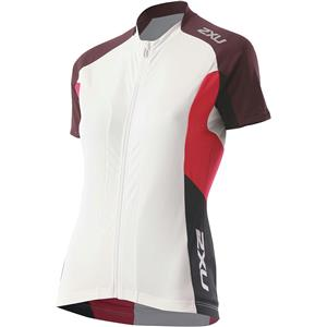 2XU Women's Road Comp Jersey Small Red