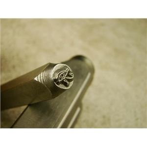 """Eye Of Horus"" Stamp -6mm-Large Stamp-Metal-Hardened Steel-Gold & Silver Bar"