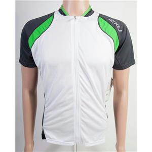 2XU Elite X Cycle Jersey Men's White