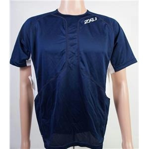 2Xu Comp Run Short Sleeve Men's Blue Scurro