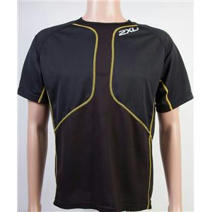 2XU Comp Run Short Sleeve Black Men's