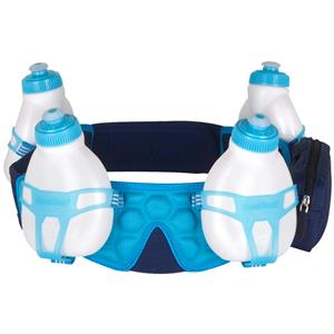 FuelBelt Helium 4Bottle Custom Fit Blue L