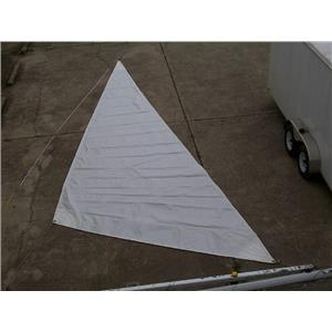 Storm Trisail  W 27-7 LUFF & 13-8  FOOT: Boaters' Resale Shop of Tx 1409 2442.92