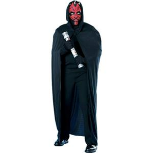 Star Wars Episode I Darth Maul Mask and Hooded Cape Costume Kit